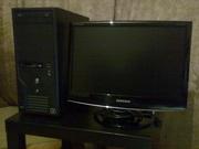 Игровой компьютер на базе i3 530 с ЖК 19