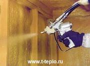 Утепление методом напыления Пенополиуретана (ППУ)