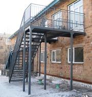 Пожарные эвакуационные лестницы