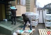 Подъем строительных материалов,  смесей,  гипсократона,  Двп,  кирпича