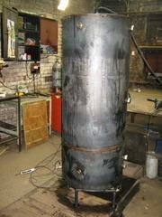 Расширительный бак открытого закрытого типа из черной или нержавеющей стали