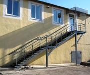 Лестницы ходовые,  уличные, внутренние, винтовые
