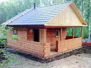 Строительство из бруса. Дома,  бани,  срубы. Комплектация. Красноярск
